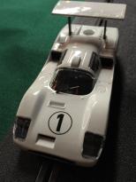Slot cars, slot car racing, 1/32 slot car racing, Chaparral race cars, Chaparral 2F