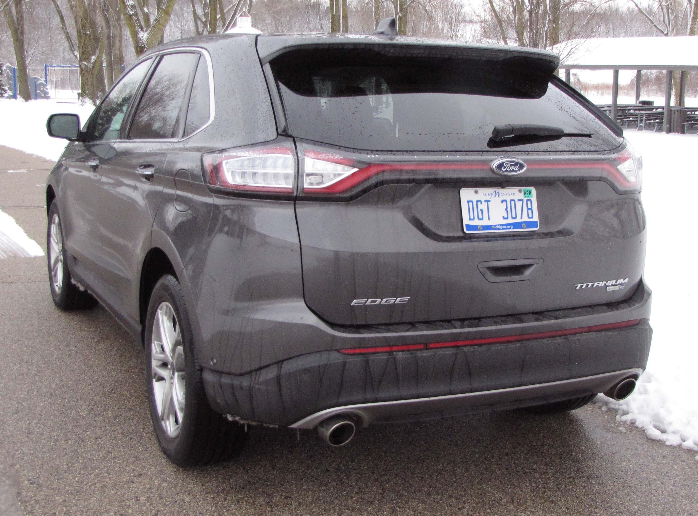 fast stats 2015 ford edge titanium awd edge5 - 2015 Ford Edge Magnetic