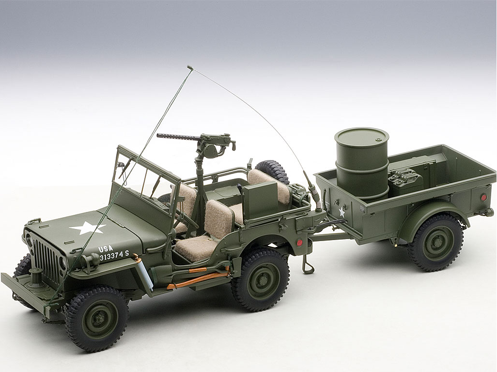die cast autoart willys jeep savage on wheels. Black Bedroom Furniture Sets. Home Design Ideas