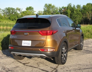 2017 Kia Sportage, Subaru Forester, Honda CR-V, Toyota RAV4, Ford Escape