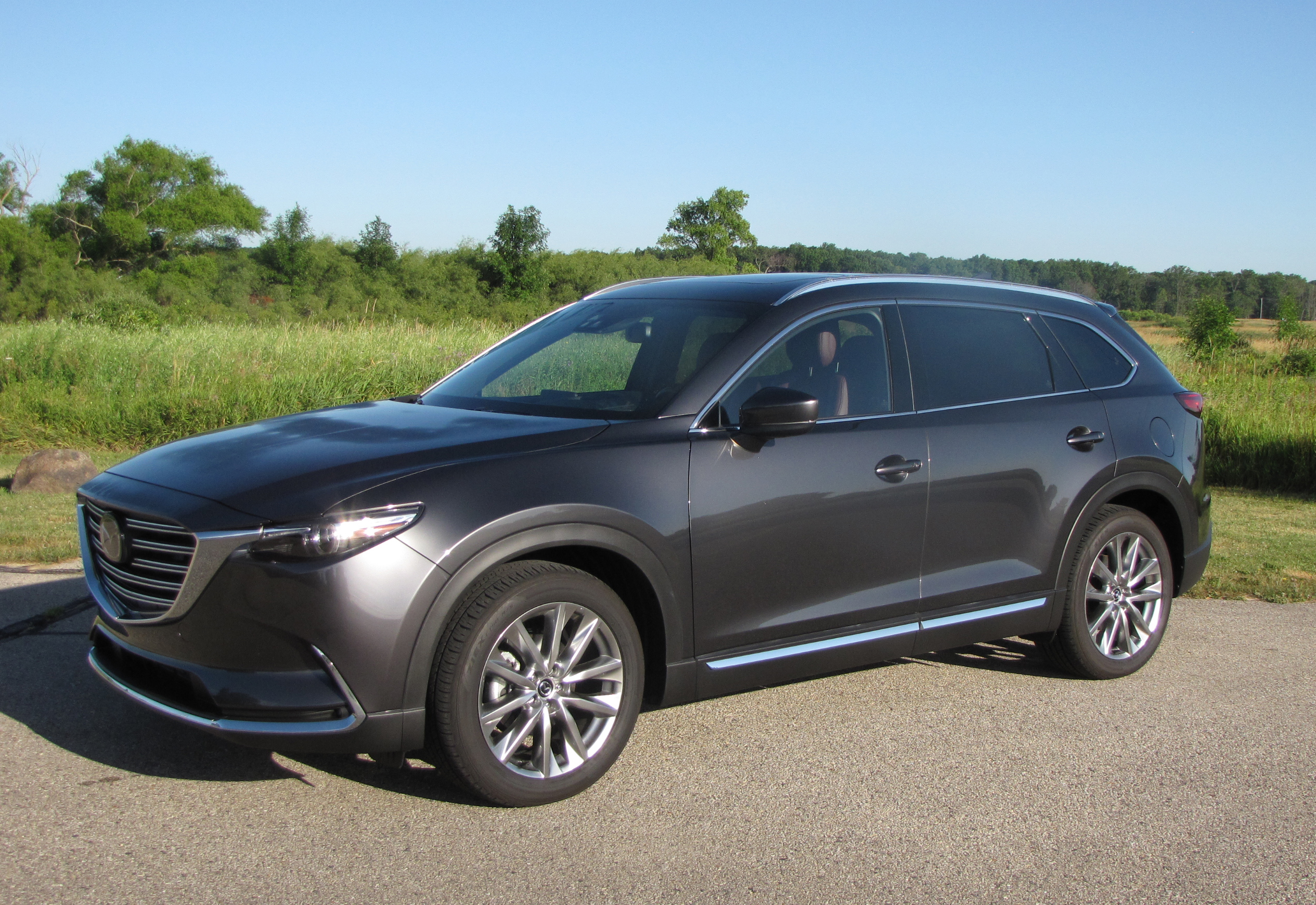 2016 mazda cx 9 signature awd savage on wheels. Black Bedroom Furniture Sets. Home Design Ideas
