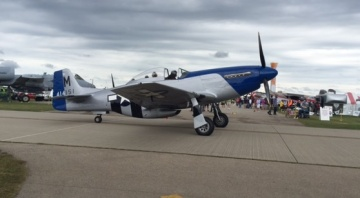 P-51, p-51 mustang, eaa, airventure 2016, world war 2 fighters