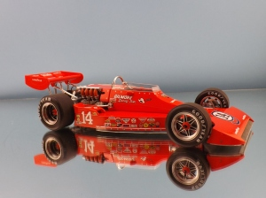 1974 Indianapolis 500 pole car, Coyote, A.J. Foyt