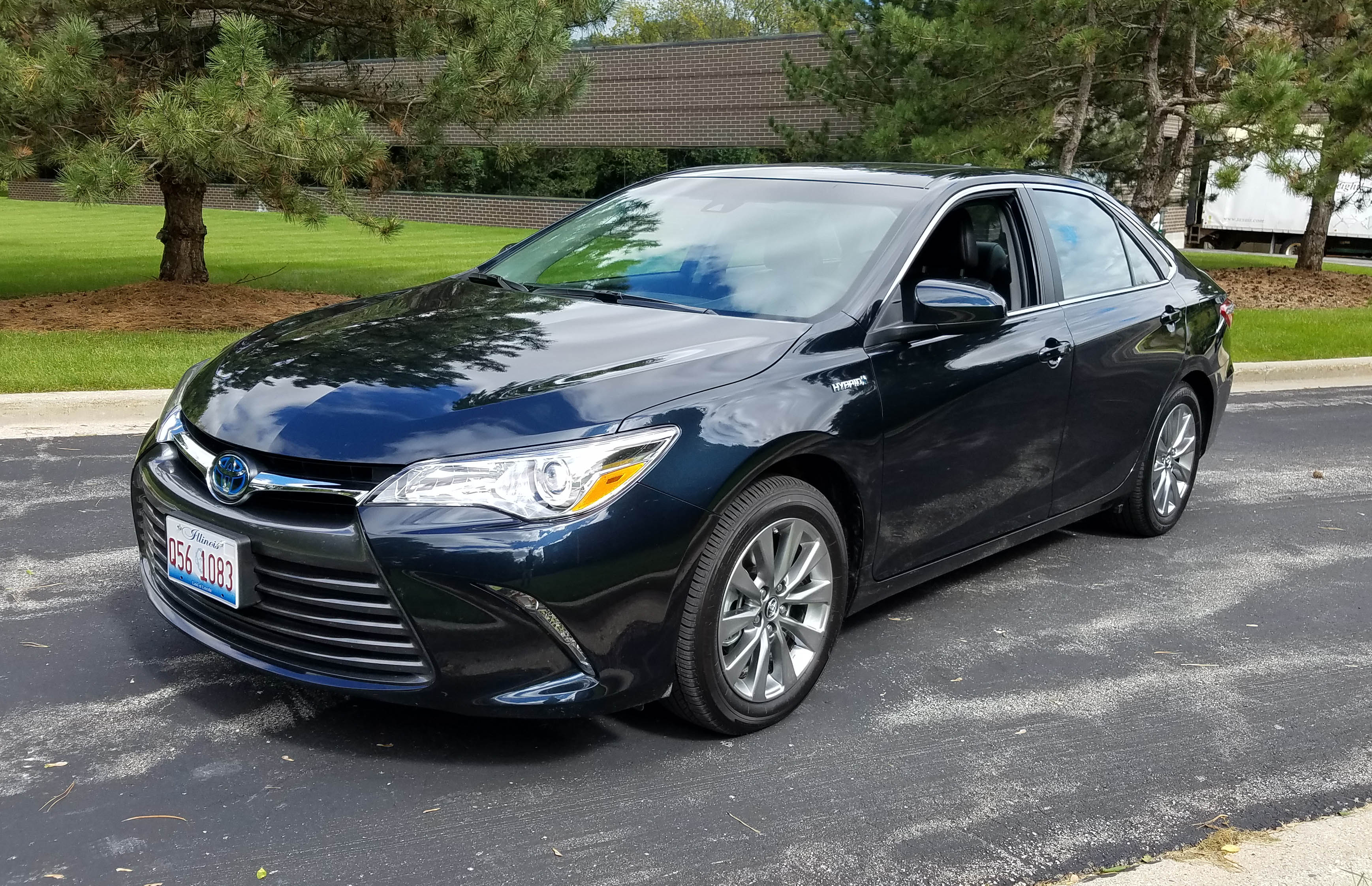 xle redesigned camry month september newly named hybrid car toyota nadaguides of is the for