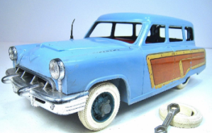markx toy company, marx toys, fix it all series, 53 merc wagon