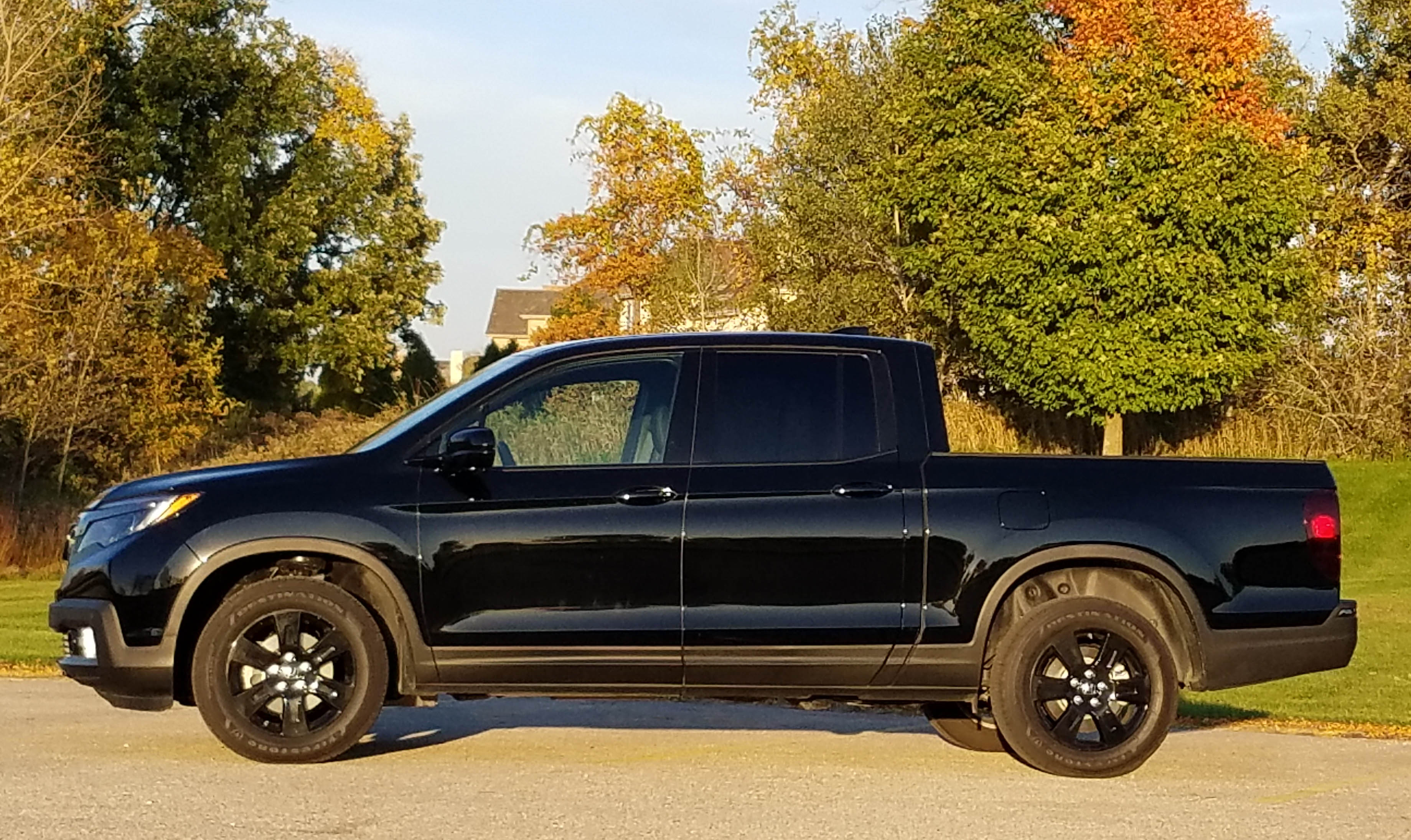 2017 Honda Ridgeline Black Edition | Savage On Wheels