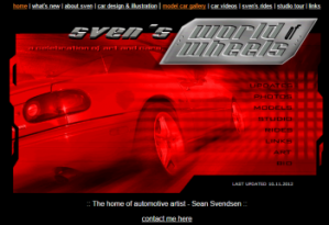 svens-home-page