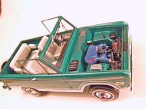 super detailed promo models, pro-built model cars, promo models, ford bronco