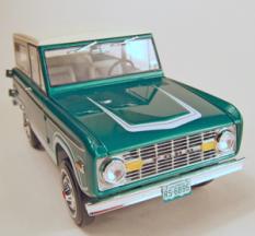 ford bronco, 72 ford bronco, promo models, pro-built promo models