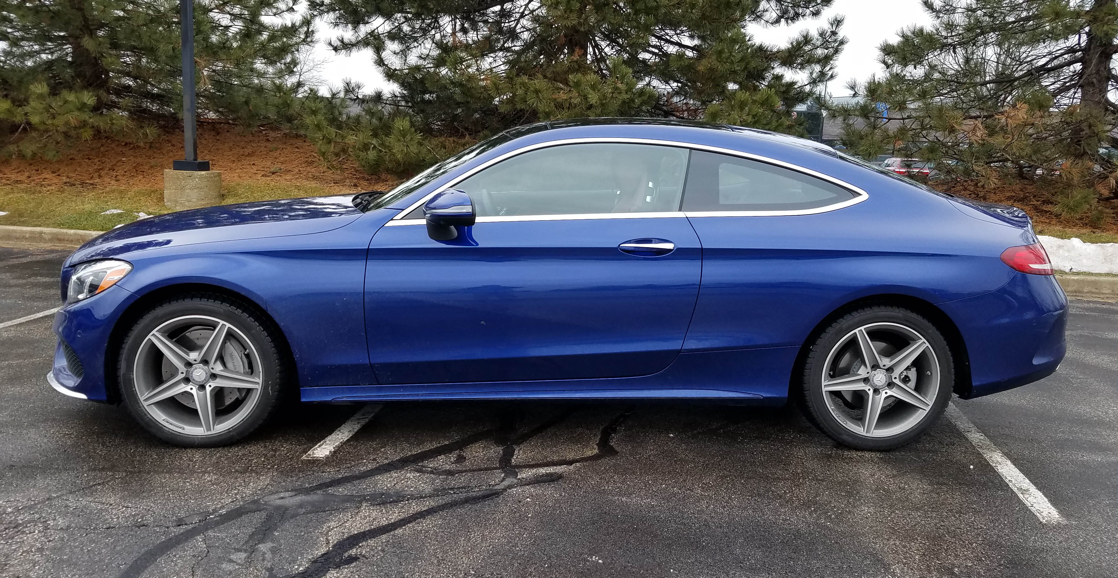 2017 mercedes benz c300 coupe 4matic savage on wheels. Black Bedroom Furniture Sets. Home Design Ideas