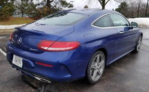 2017 Mercedes-Benz C300 coupe