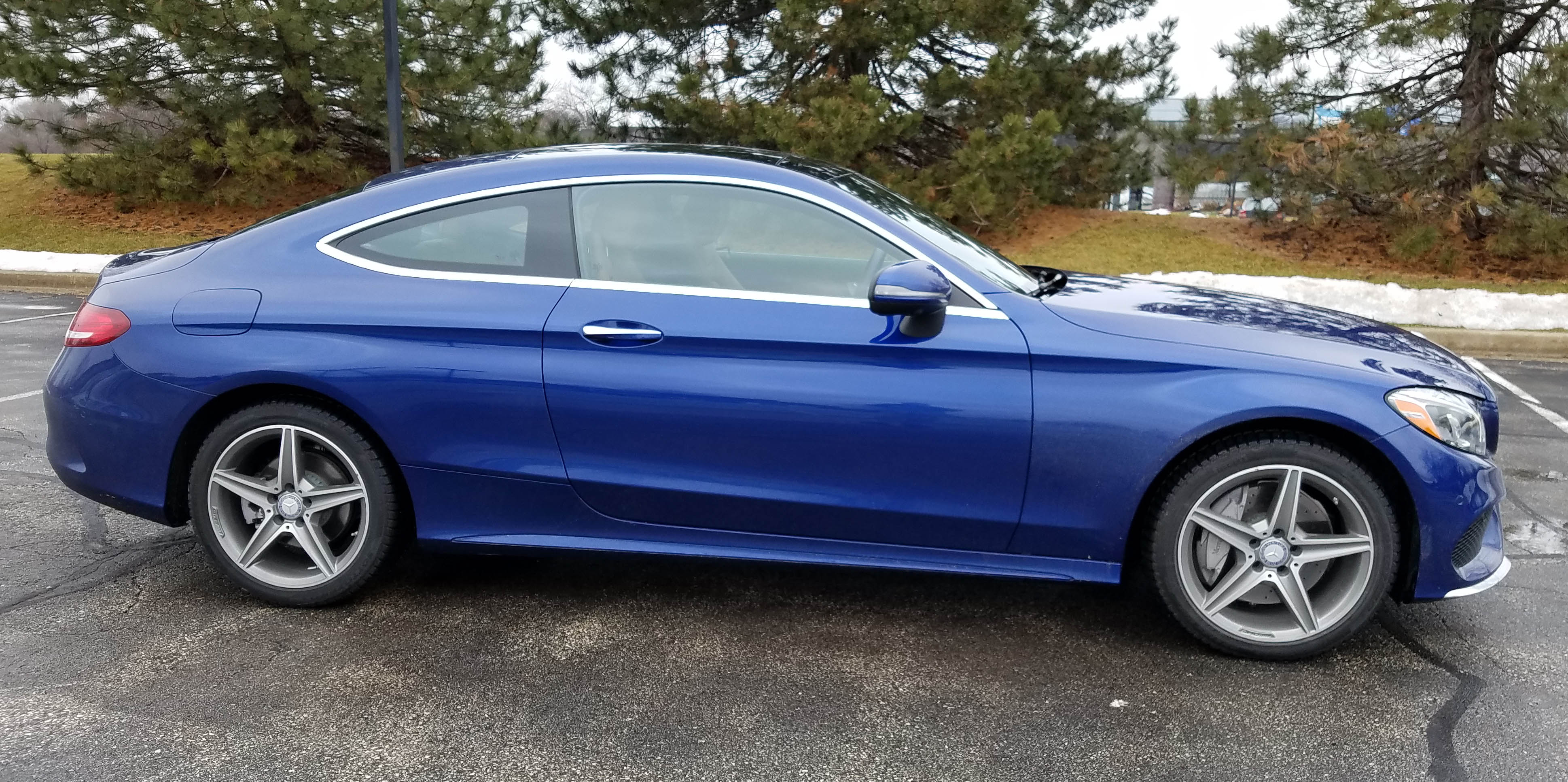 2017 mercedes benz c300 coupe 4matic savage on wheels for Mercedes benz c300