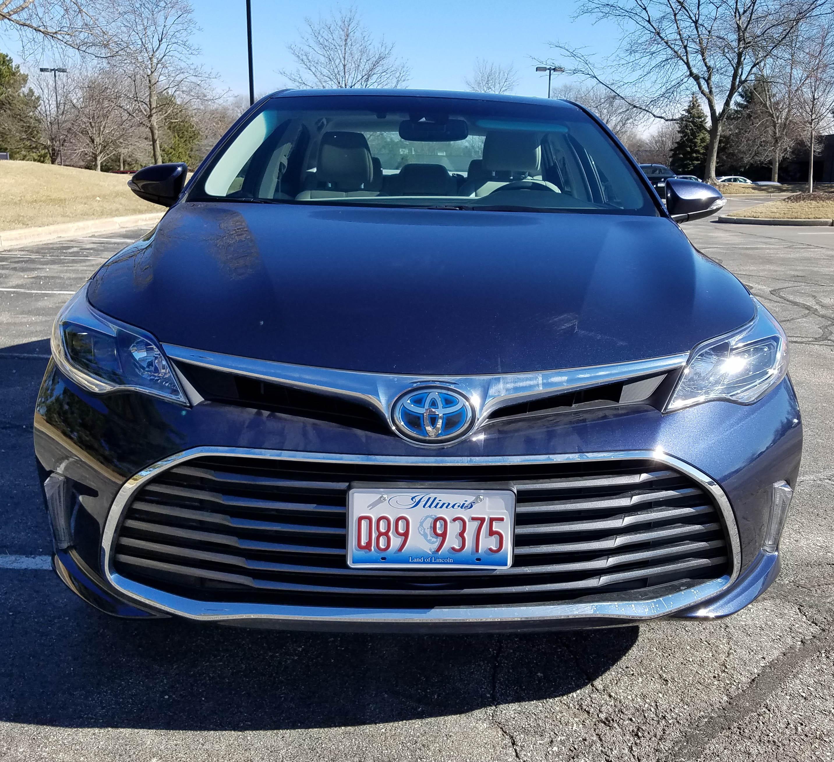 2017 Toyota Avalon Hybrid Transmission
