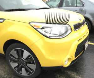 kia automobiles, auto aftermarket add-ons, stupid things people put on their cars