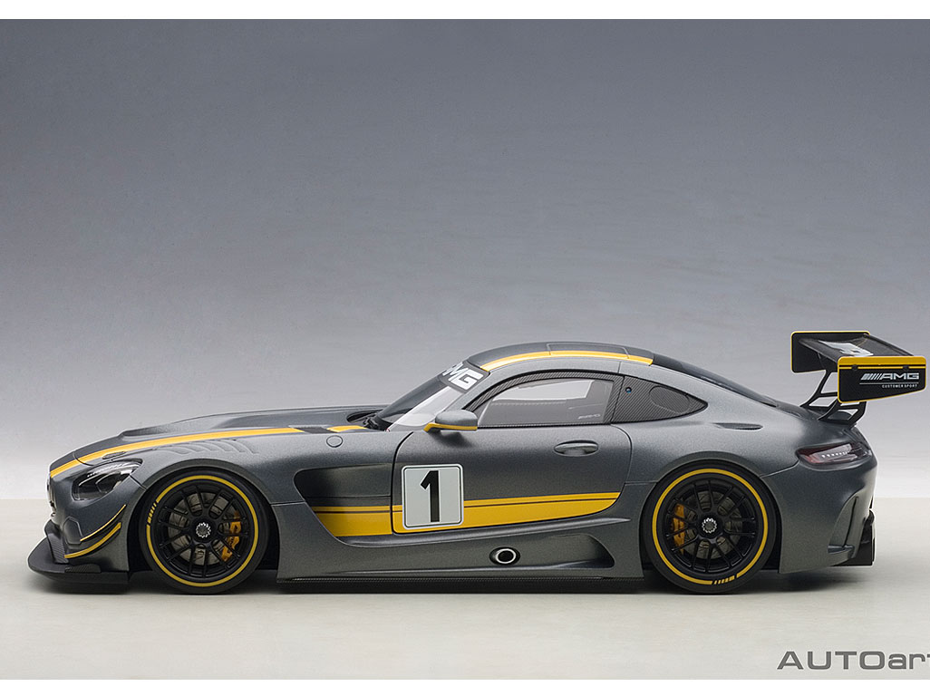 Die cast autoart s mercedes amg gt3 savage on wheels for Mercedes benz gt3