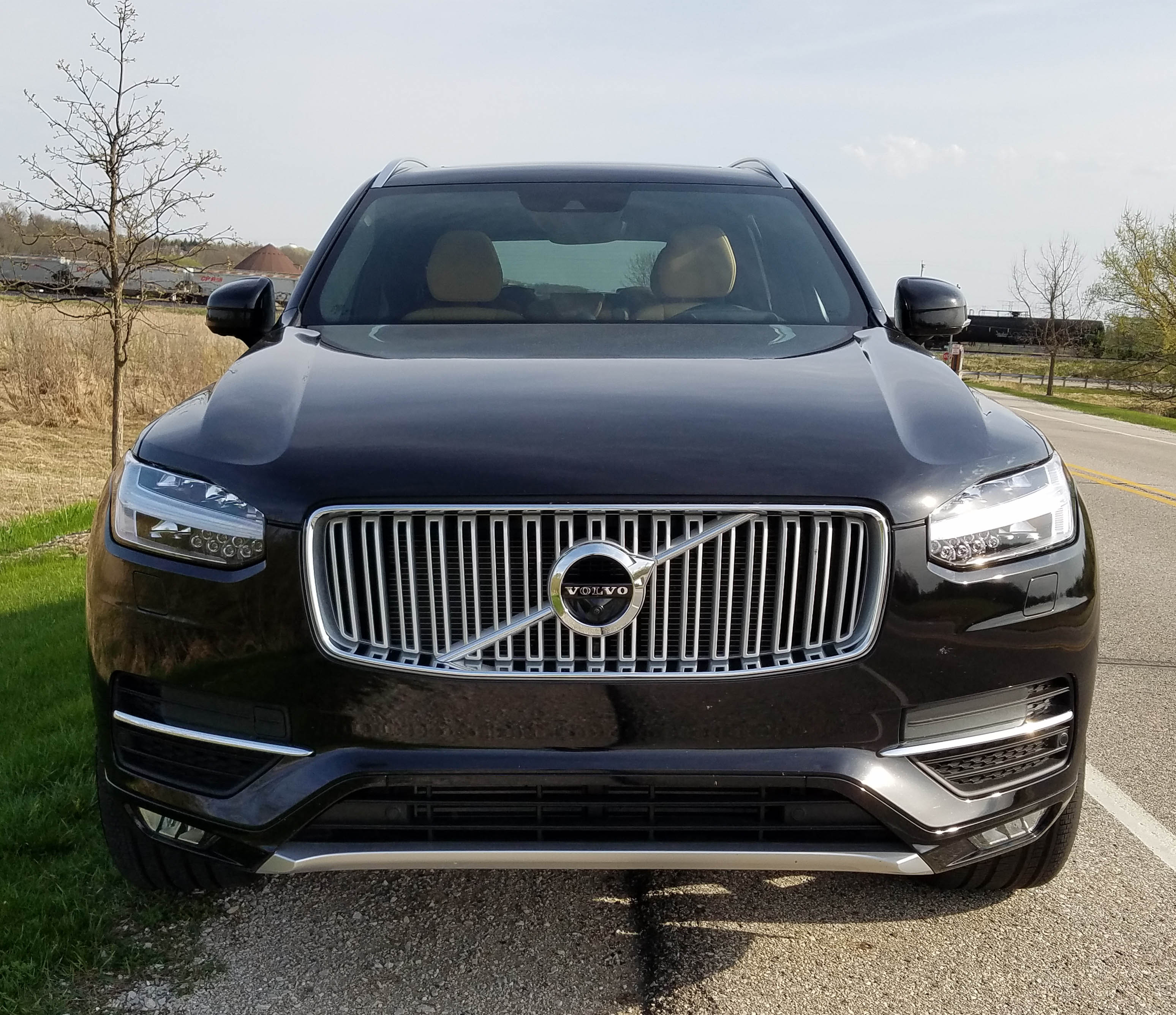 2017 volvo xc90 t6 awd inscription savage on wheels. Black Bedroom Furniture Sets. Home Design Ideas