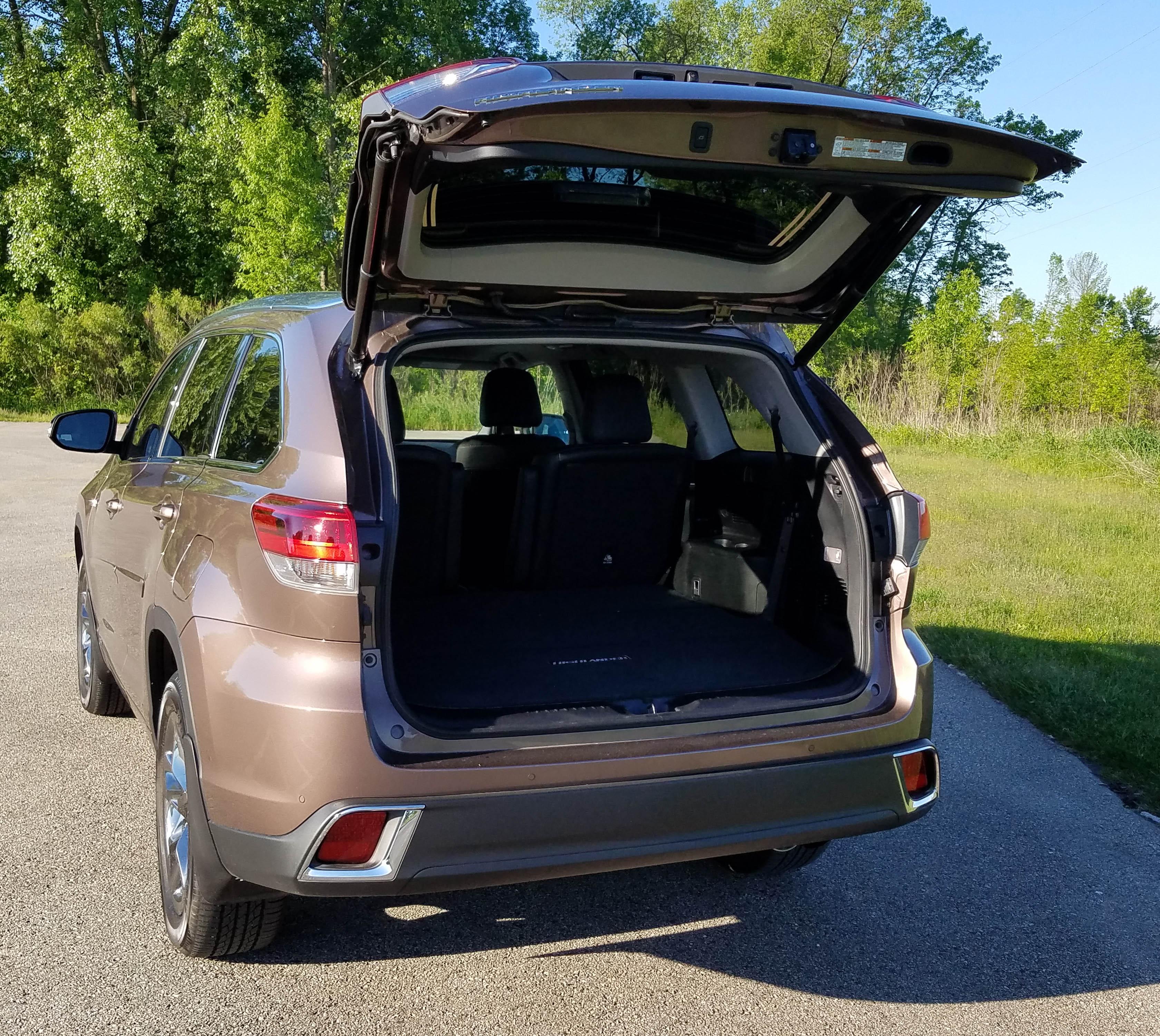 Hybrid Toyota Highlander: 2017 Toyota Highlander Hybrid Ltd. Platinum
