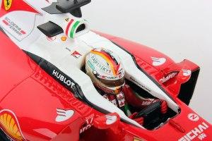 Ferrari SF16-H F1 racer