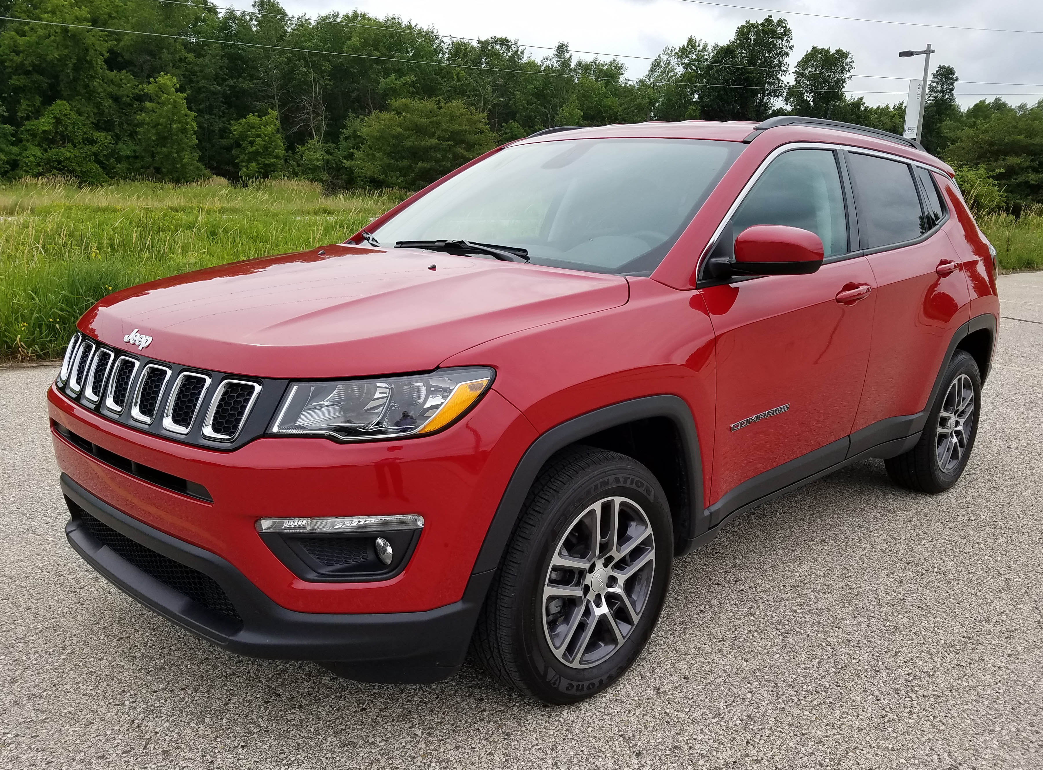 2017 new jeep compass latitude 4 4 savage on wheels. Black Bedroom Furniture Sets. Home Design Ideas