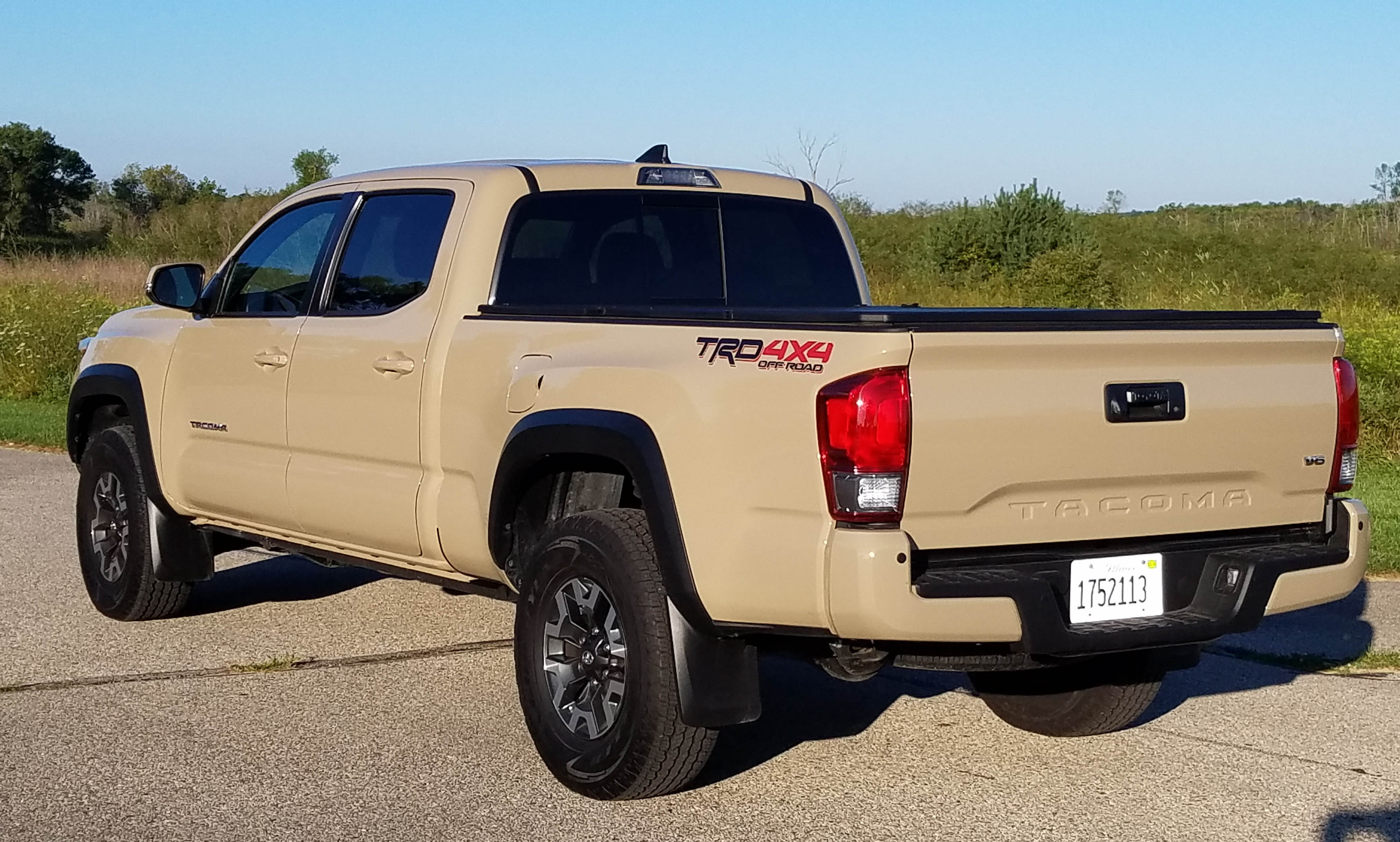 2017 toyota tacoma trd off road 4 4 double cab long bed savage on wheels. Black Bedroom Furniture Sets. Home Design Ideas