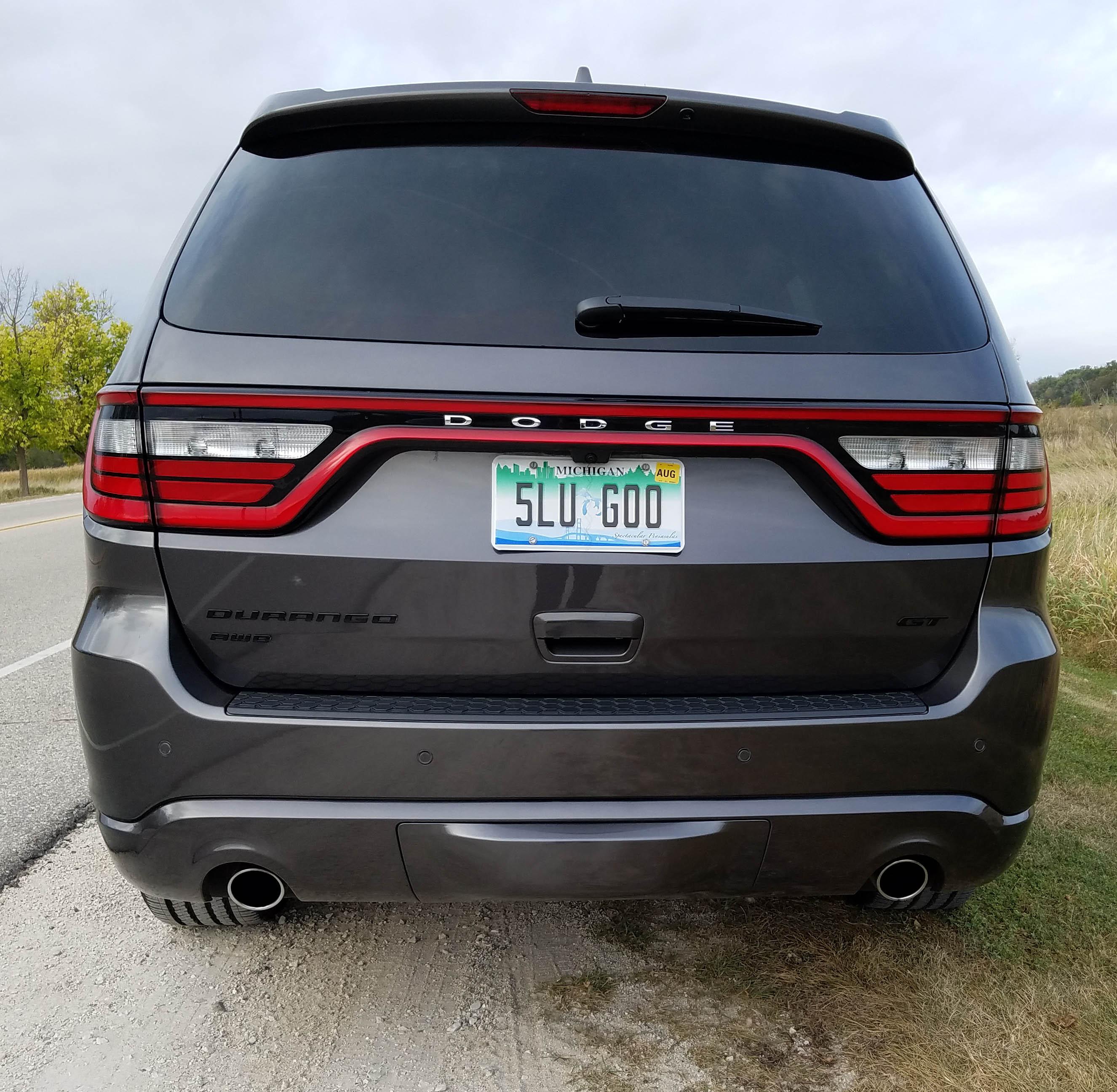 2017 Dodge Durango Gt Blacktop Awd Savage On Wheels