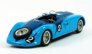 1937 Bugatti Le Mans winner