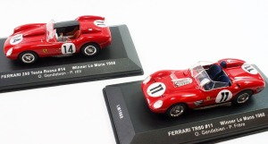 Ferrari 250 Le Mans winners