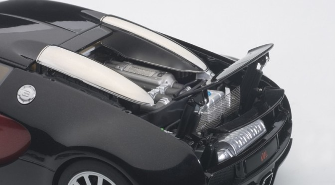 Die-cast: Autoart's Bugatti EB Veyron (chassis No. 001)