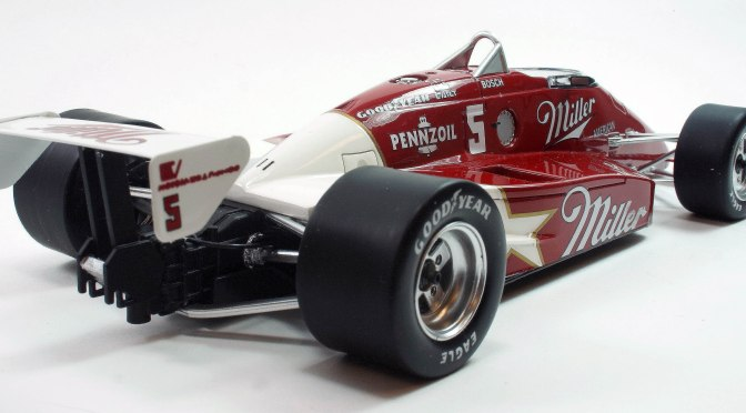 Die-cast: Replicarz's 1985 March 85C, Indy Winner