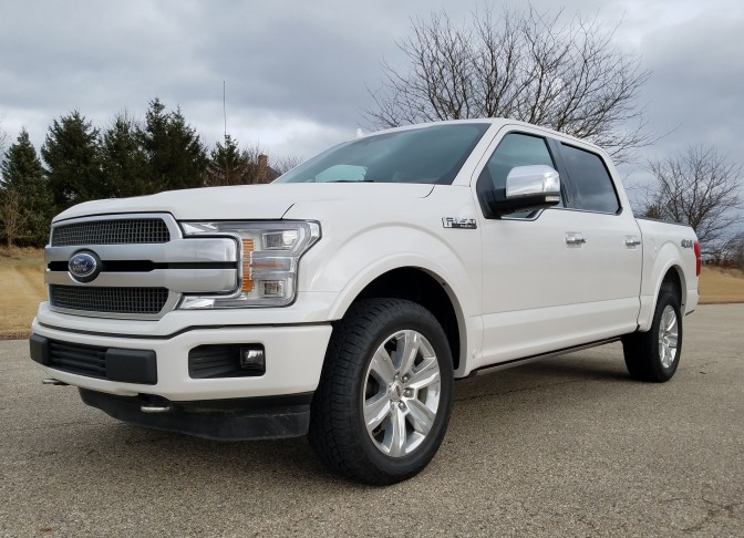 2018 Ford F-150 4×4 Supercrew Platinum