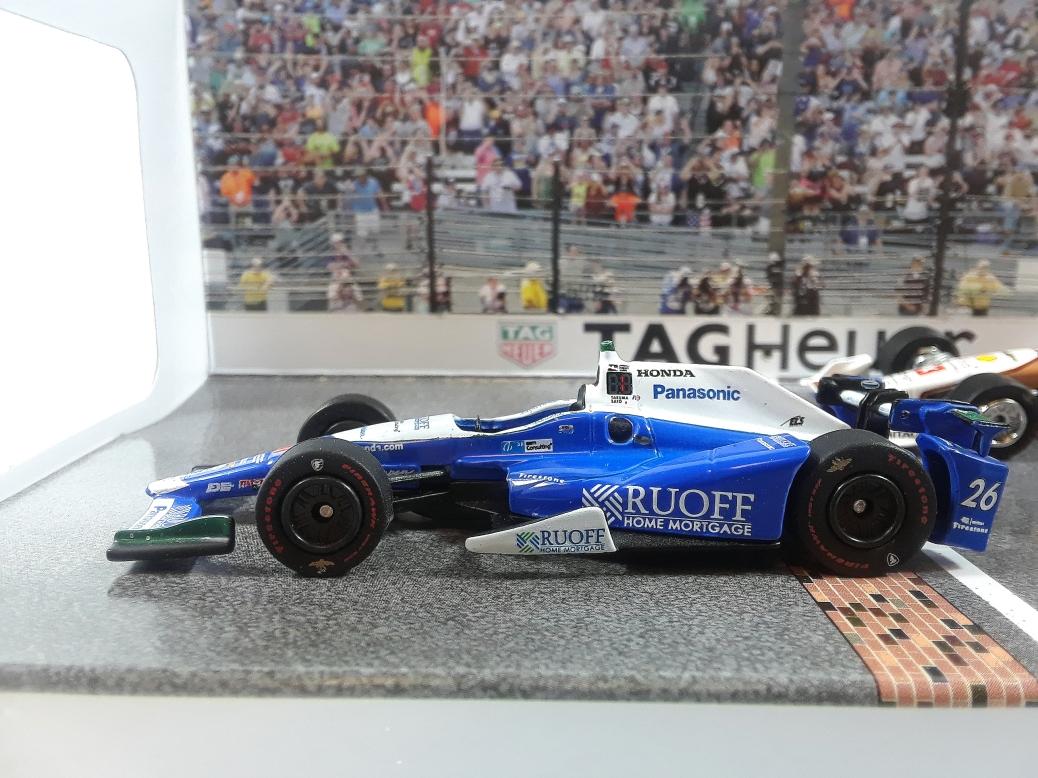 Greenlight 2017 Indy 500 podium finishers