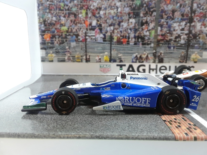 Die-cast: Greenlight's 2017 Indy 500 podium diorama