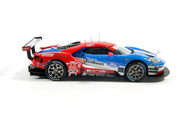 Die-cast: Ixo's Ford GT No. 66, Daytona 2017