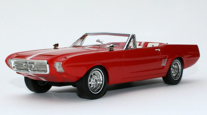 Die-cast: Automodello's 1963 Ford Mustang II Concept