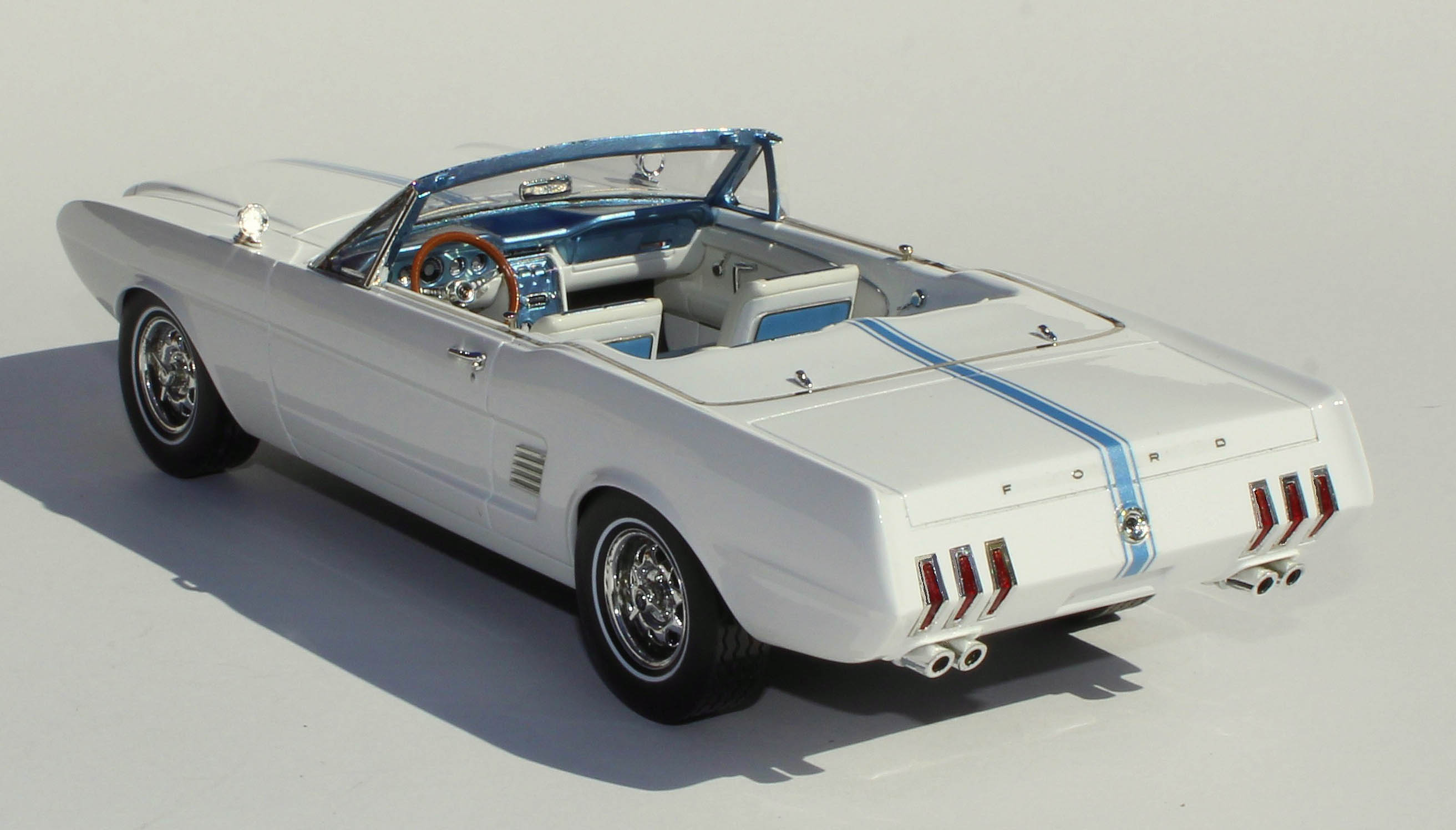 Automodellos 1963 ford mustang ii concept
