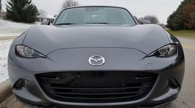 2019 Mazda MX-5 Grand Touring RF (Miata)