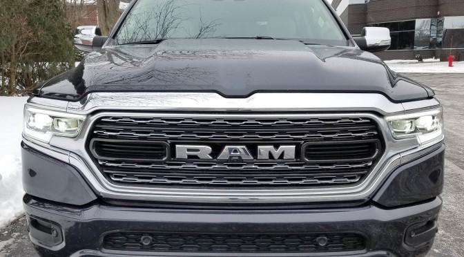 2019 RAM 1500 Limited Crew Cab 4×4