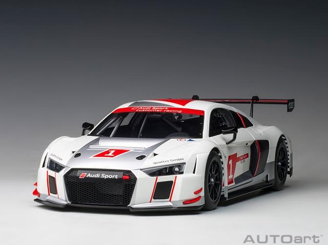 Die-cast: Autoart Audi R8 FIA GT GT3
