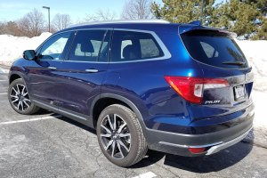 2019 Honda Pilot  for a car review