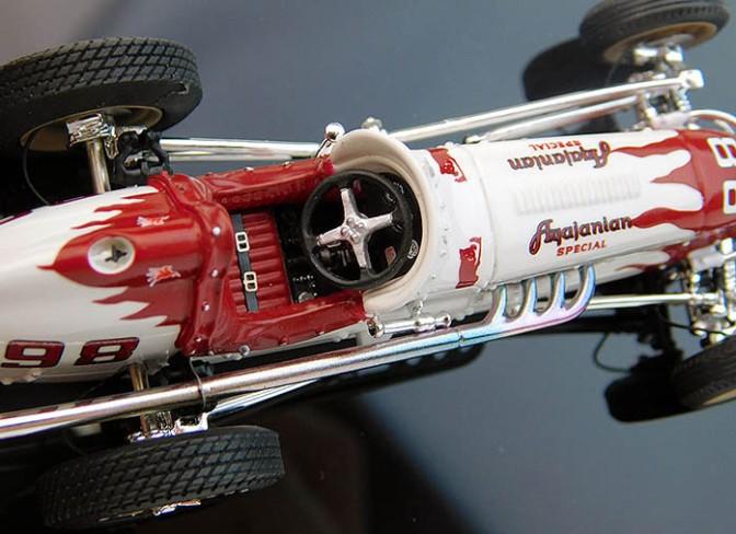 Die-cast: Replicarz 1952 Indy 500 Winner, Agajanian Special
