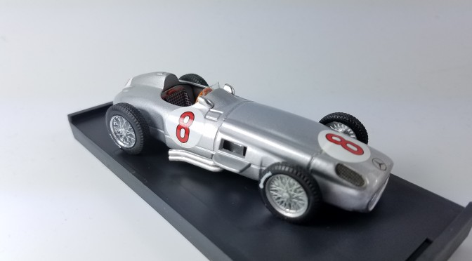 Die-cast: Brumm Mercedes W196 and Ferrari 500F2