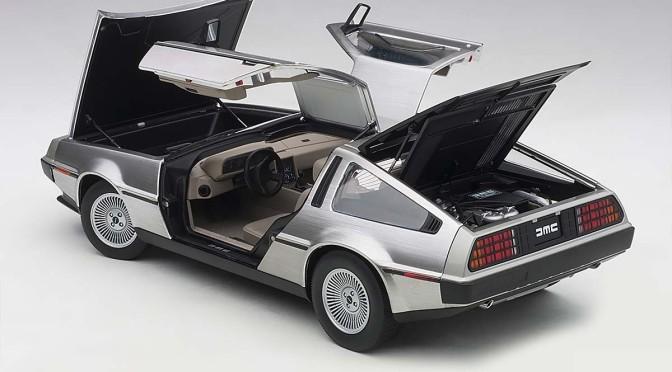 Diecast: Autoart DeLorean DMC12