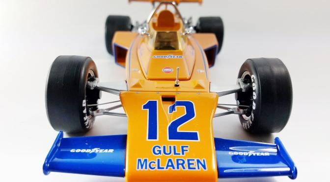 Die-cast: Replicarz 1972 McLaren M16 (Revson)