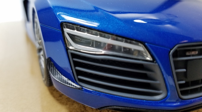 Die-cast: DNA's Audi R8 LMX