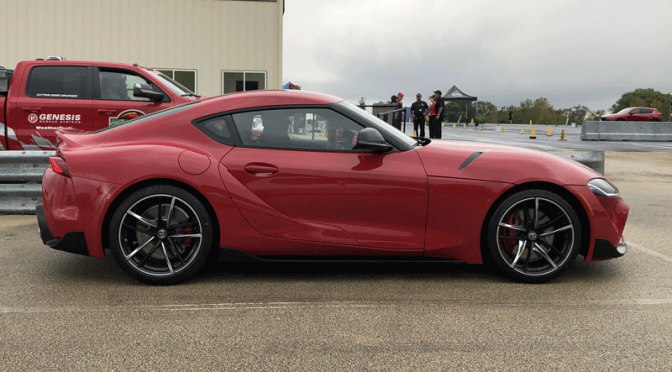 New Toyota Supra is super fun