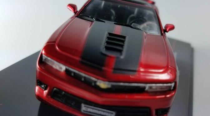 Die-cast: IXO's 2014 Chevy Camaro convertible