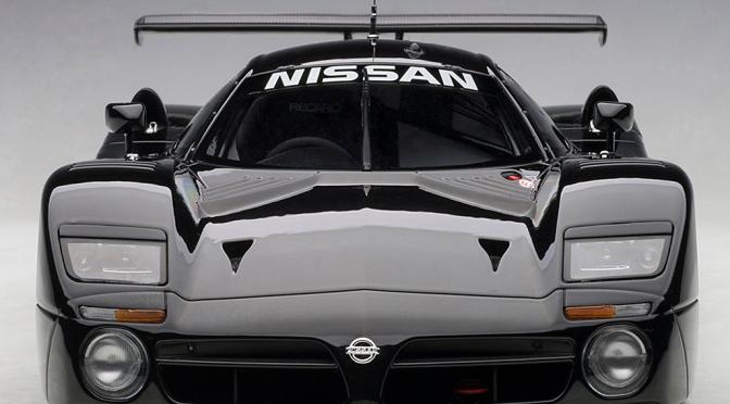 Die-cast: Autoart's Nissan R390 GT1, 1998 Le Mans