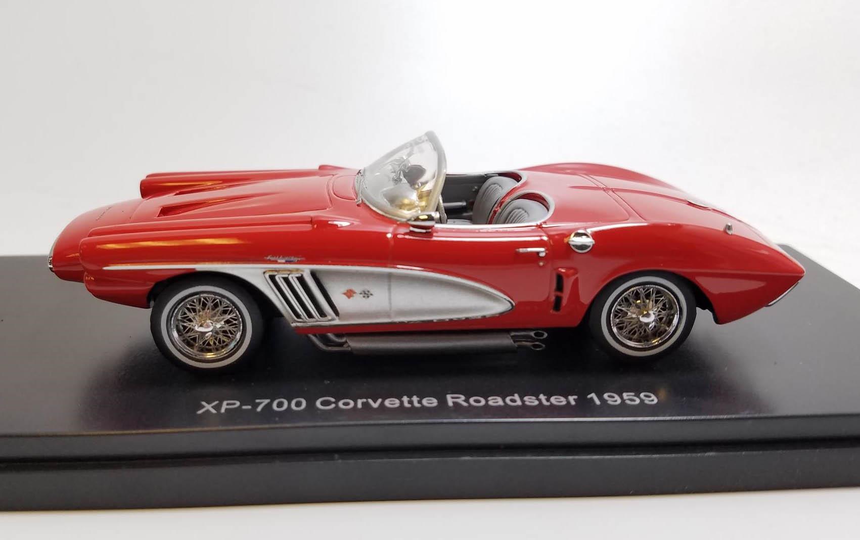 1959-1:43 #46516 rot Neo Chevrolet Corvette XP-700 Roadster Concept