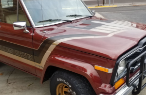 Jeep golden hawk, jeep golden hawk decal