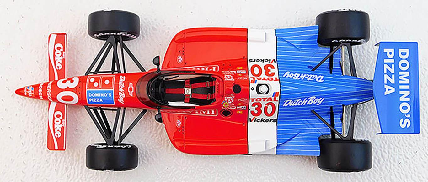 ARIE LUYENDYK DOMINO/'S LOLA 90 INDY 500 WINNER 1:18 REPLICARZ VINTAGE RACE CAR